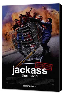 Jackass: The Movie - 27 x 40 Movie Poster - Style A - Museum Wrapped Canvas