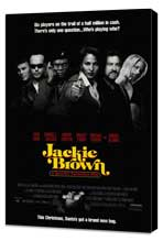 Jackie Brown - 27 x 40 Movie Poster - Style A - Museum Wrapped Canvas