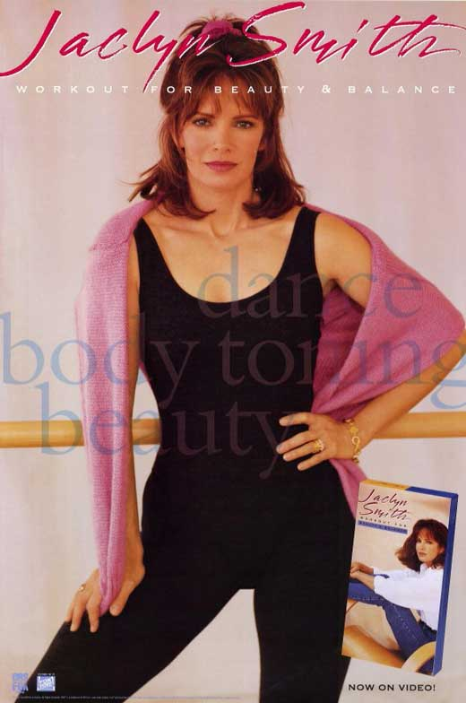 Jaclyn Smith workout