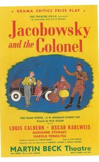 Jacobowsky And The Colonel (Broadway) - 11 x 17 Poster - Style A