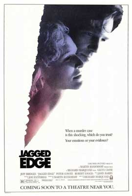 The Jagged Edge - 27 x 40 Movie Poster - Style A