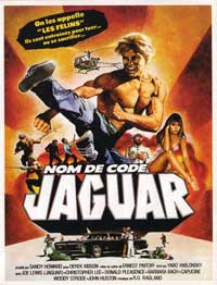 Jaguar Lives - 11 x 17 Movie Poster - French Style A