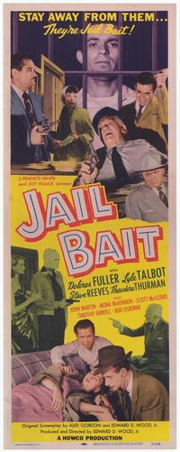 Jail Bait - 27 x 40 Movie Poster - Style A