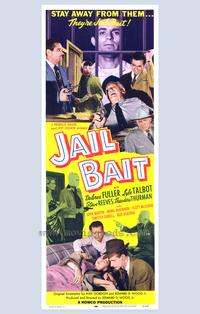 Jail Bait - 43 x 62 Movie Poster - Bus Shelter Style A