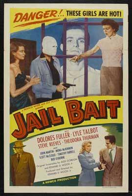 Jail Bait - 11 x 17 Movie Poster - Style B