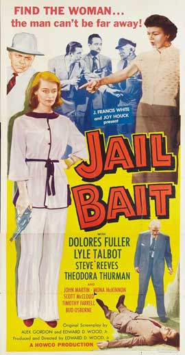 Jail Bait - 11 x 17 Movie Poster - Style D