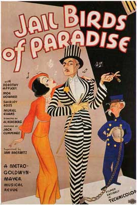 Jail Birds of Paradise - 11 x 17 Movie Poster - Style A
