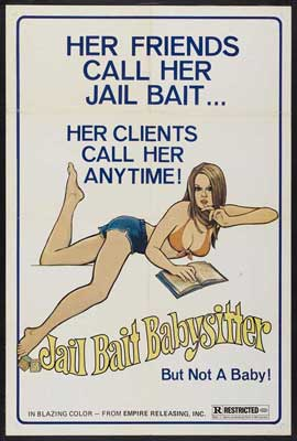 Jail Bait Babysitter - 11 x 17 Movie Poster - Style A