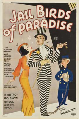 Jailbirds of Paradise - 27 x 40 Movie Poster - Style A