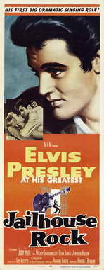 Jailhouse Rock - 14 x 36 Movie Poster - Insert Style A