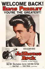 Jailhouse Rock - 11 x 17 Movie Poster - Style F