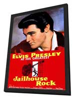 Jailhouse Rock - 11 x 17 Movie Poster - Style A - in Deluxe Wood Frame