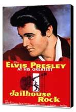 Jailhouse Rock - 11 x 17 Movie Poster - Style A - Museum Wrapped Canvas