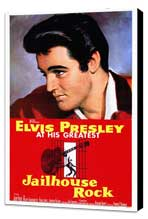 Jailhouse Rock - 27 x 40 Movie Poster - Style A - Museum Wrapped Canvas
