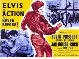 Jailhouse Rock - 11 x 17 Movie Poster - Style B