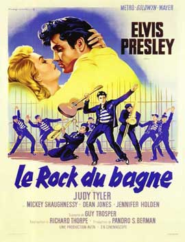 Jailhouse Rock - 11 x 17 Movie Poster - Belgian Style A