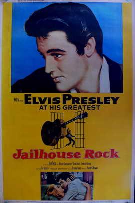 Jailhouse Rock - 11 x 17 Movie Poster - Style E