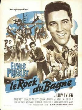 Jailhouse Rock - 11 x 17 Movie Poster - French Style A