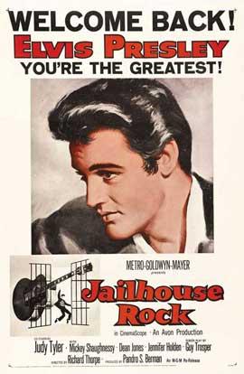 Jailhouse Rock - 27 x 40 Movie Poster - Style B