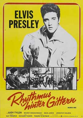Jailhouse Rock - 11 x 17 Movie Poster - German Style A