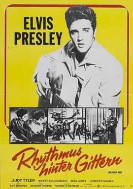 Jailhouse Rock - 11 x 17 Movie Poster - German Style A