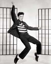 Jailhouse Rock - 8 x 10 B&W Photo #1