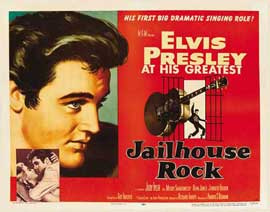 Jailhouse Rock - 22 x 28 Movie Poster - Half Sheet Style A