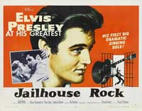 Jailhouse Rock - 22 x 28 Movie Poster - Half Sheet Style B
