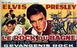 Jailhouse Rock - 11 x 17 Movie Poster - Russian Style A