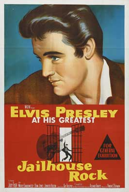 Jailhouse Rock - 11 x 17 Movie Poster - Australian Style A