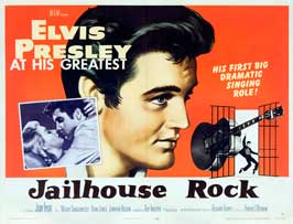 Jailhouse Rock - 43 x 62 Movie Poster - Bus Shelter Style B