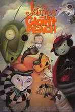 James and the Giant Peach - 27 x 40 Movie Poster - Style B