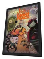 James and the Giant Peach - 27 x 40 Movie Poster - Style B - in Deluxe Wood Frame