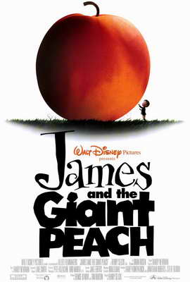 James and the Giant Peach - 27 x 40 Movie Poster - Style A