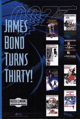 James Bond 40th Anniversary Series - 11 x 17 Movie Poster - Style A