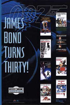 James Bond 40th Anniversary Series - 27 x 40 Movie Poster - Style A