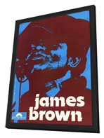 James Brown - 27 x 40 Movie Poster - Style A - in Deluxe Wood Frame