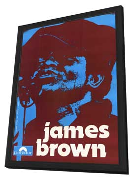 James Brown - 11 x 17 Movie Poster - Style A - in Deluxe Wood Frame