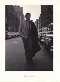 James Dean - Art Poster - 24 x 32 - Style A
