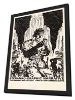 James Steranko: Comic Artist - 27 x 40 Movie Poster - Style A - in Deluxe Wood Frame