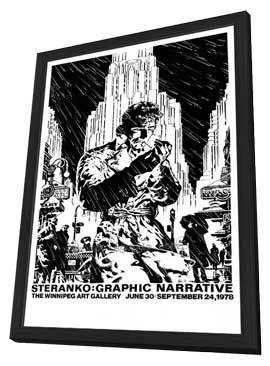 James Steranko: Comic Artist - 11 x 17 Movie Poster - Style A - in Deluxe Wood Frame