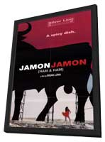 Jamon, Jamon - 27 x 40 Movie Poster - Style A - in Deluxe Wood Frame