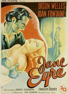 Jane Eyre - 11 x 17 Movie Poster - French Style A