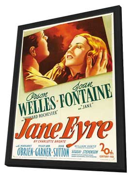 Jane Eyre - 27 x 40 Movie Poster - Style A - in Deluxe Wood Frame