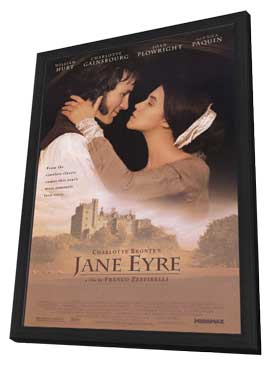 Jane Eyre - 11 x 17 Movie Poster - Style A - in Deluxe Wood Frame