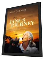 Jane's Journey - 11 x 17 Movie Poster - UK Style A - in Deluxe Wood Frame