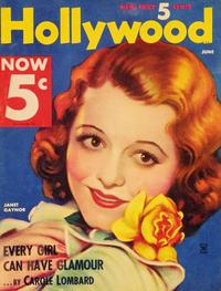 Janet Gaynor - 27 x 40 Movie Poster - Hollywood Magazine Cover 1930's Style A
