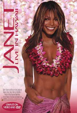 Janet Jackson: Live in Hawaii - 11 x 17 Music Poster - Style A