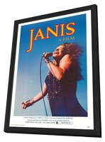 Janis - 11 x 17 Movie Poster - Style A - in Deluxe Wood Frame