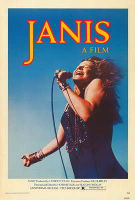 Janis - 27 x 40 Movie Poster